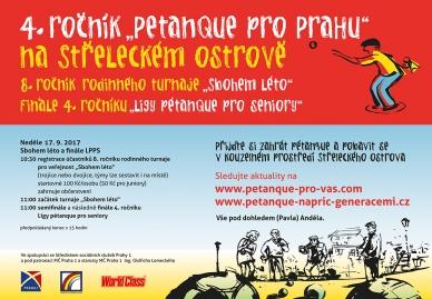8.ročník + 4.ročník na Střeleckém ostrově  = Pétanque pro Prahu + Sbohem léto + LPPS
